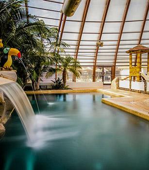vacances piscine couverte