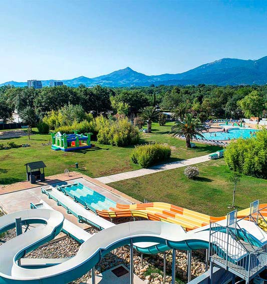 camping argeles luxe